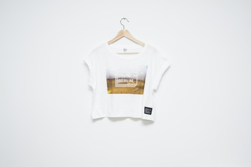 Crop Top Beer print