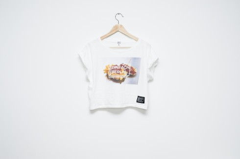 Crop Top Curry Wurst print