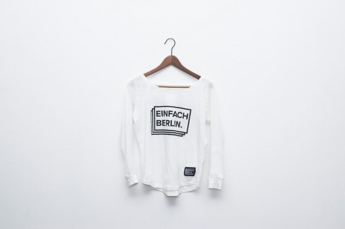 White Loose Fit Tee